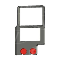 Zacuto Z-Finder Mounting Frame for Small DSLR bodies with Battery Grips - Z-MFSB (ZMFSB)